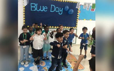 It Was A Fun-Filled Day For The KG Students As They Celebrated Blue Day!